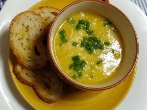 Sopa de Milho Verde Com Frango